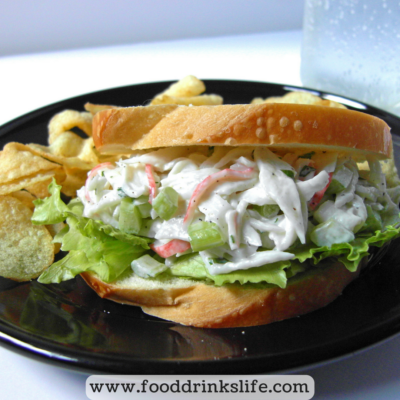 5 Minute Seafood Salad | Food Drinks Life