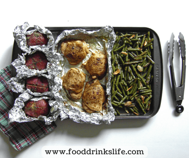 The One Pan Wonder: Sheet Pan Chicken Dinner | Food Drinks Life