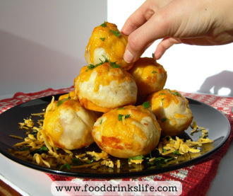 Ham and Cheese Bites | Food Drinks Life