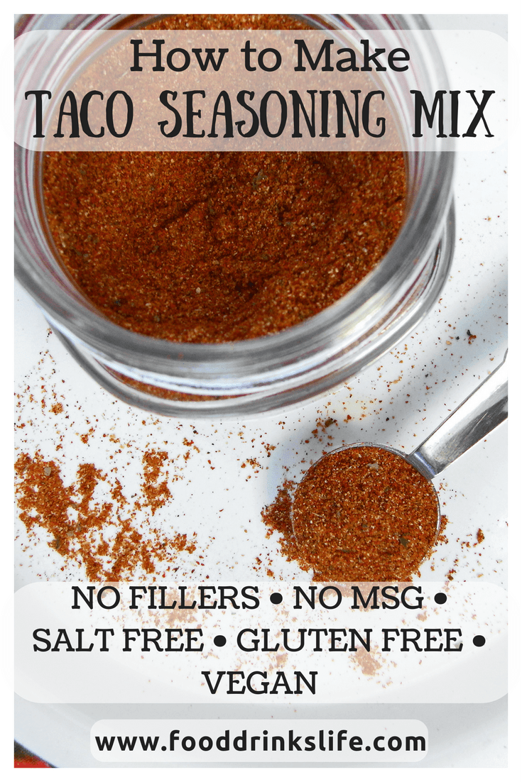 How to Make Taco Seasoning Mix | Food Drinks Life