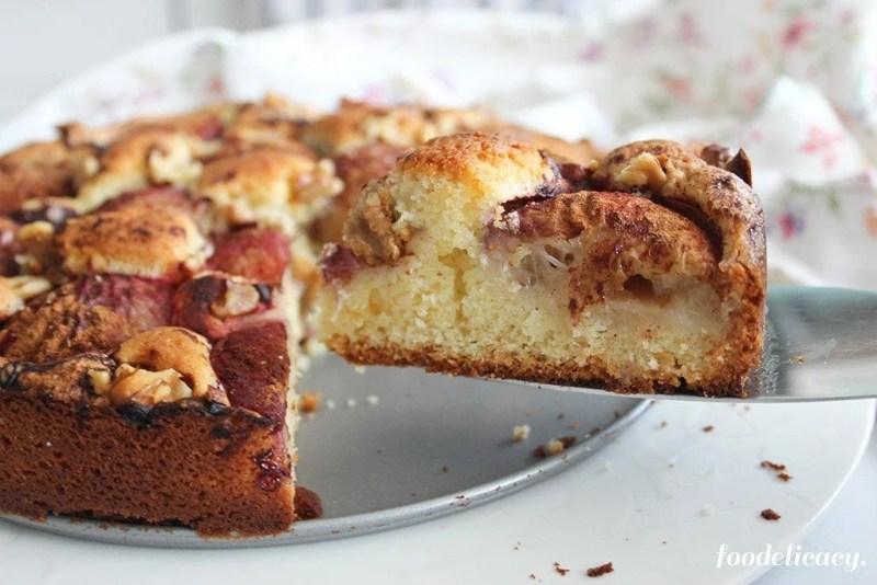 Nectarine_Walnut_Torte_7