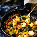 Mediterranean Warm Potato Salad