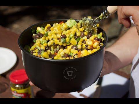 Vegan Black Bean & Avo Salad Recipe icookto.com/... #icookto #cook #USA #cook #c...
