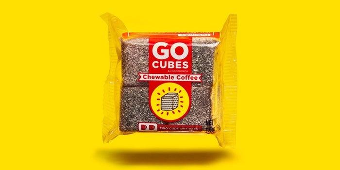 Il caffè masticabile di Go Cubes