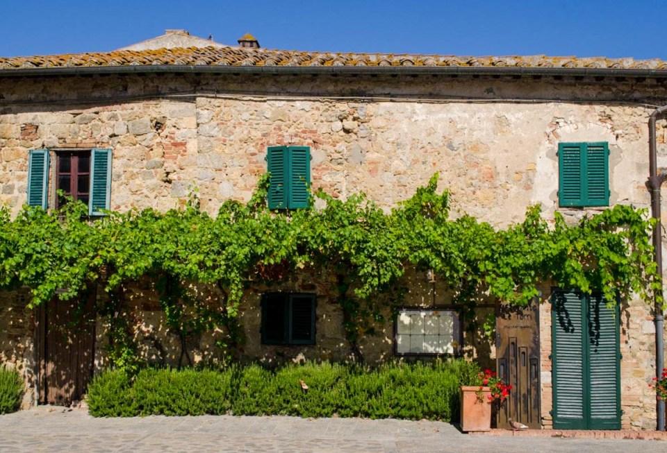 Abitazione in centro a Monteriggioni