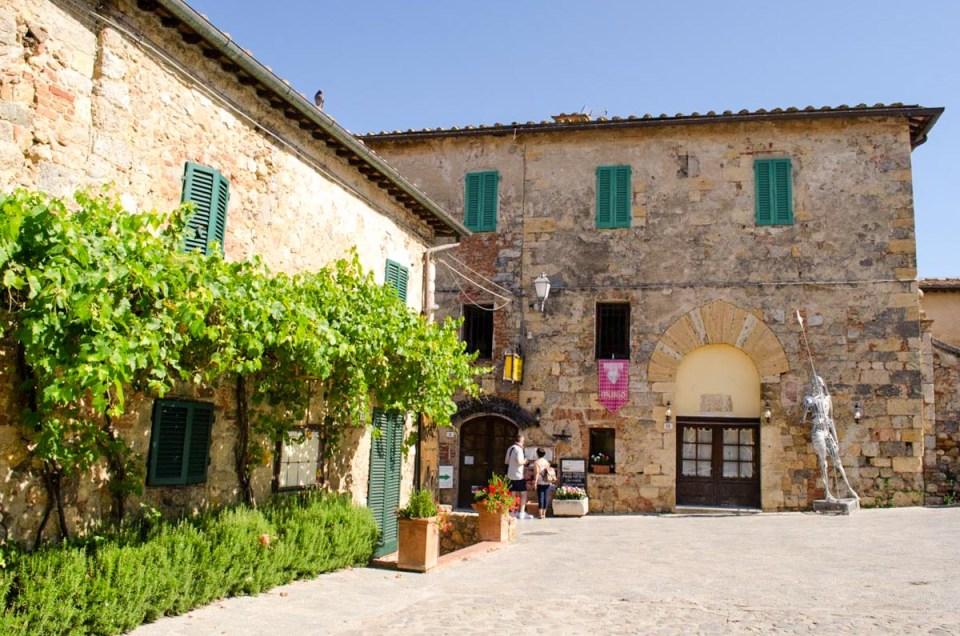 Scorci di borgo Monteriggioni