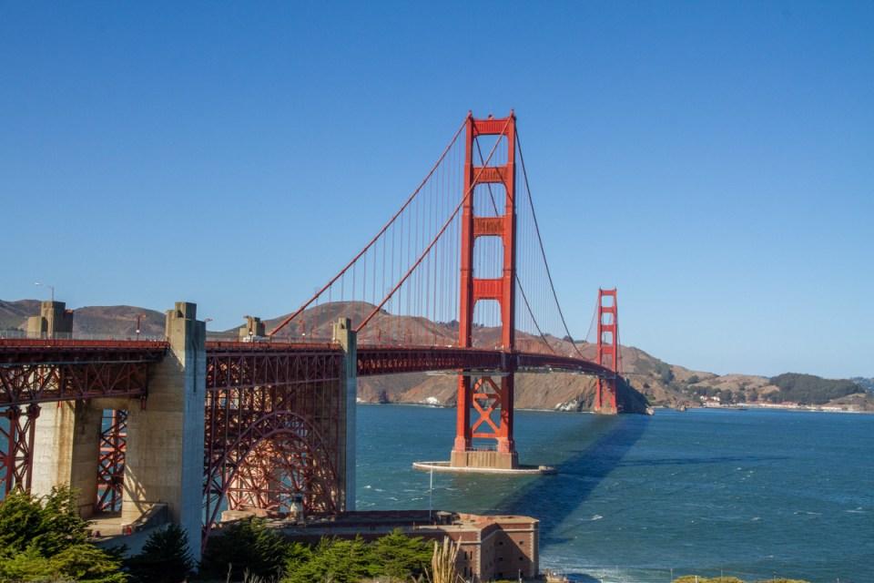 golden gate bridge, san francisco,