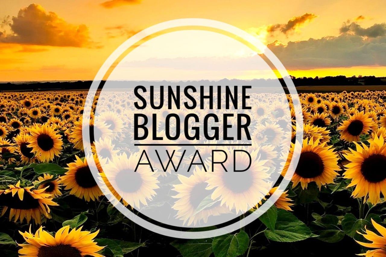 Sunshine Blogger Awards 2020: nomination #2