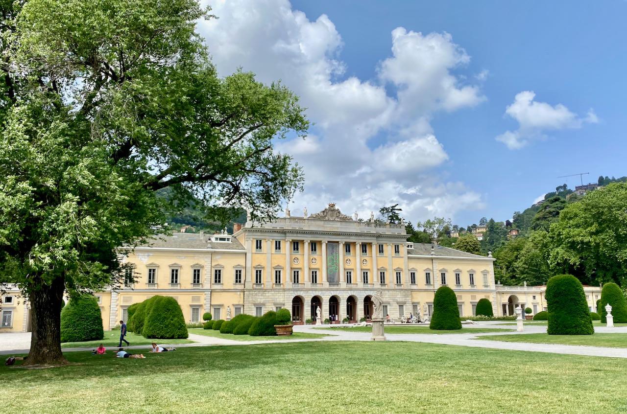 Villa Olmo a Como, quando il neoclassico incontra il futuro