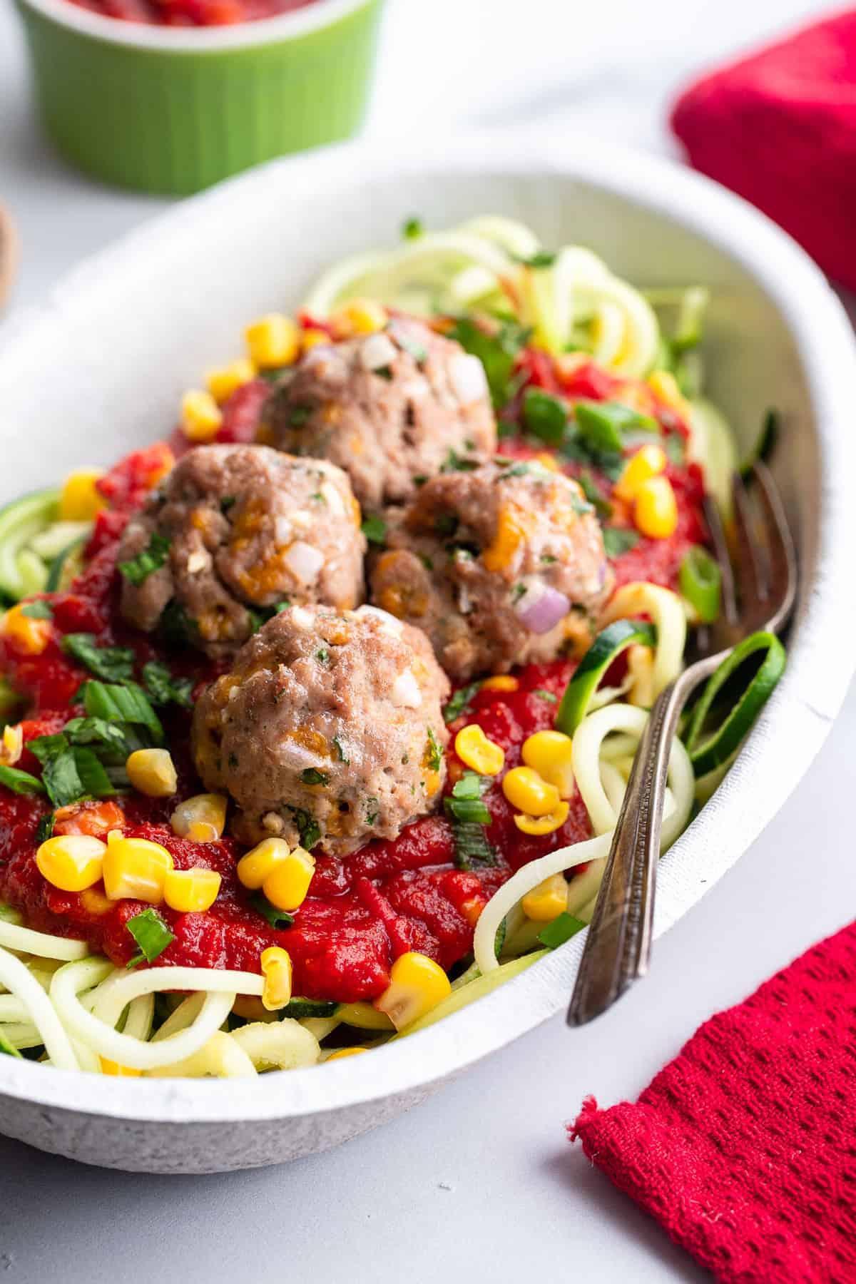 Easy Mexican Meatballs