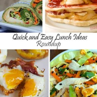 Quick and Easy Lunch Ideas {Round-up} - Food Faith Fitness