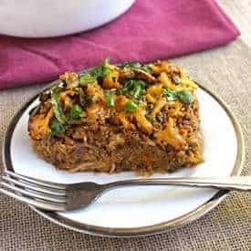 BBQ Chicken Spaghetti Squash Casserole - Food Faith Fitness