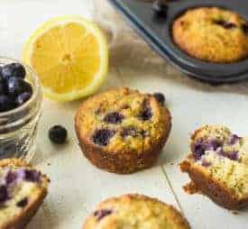 Lemon Blueberry Poppyseed Muffins