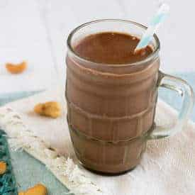 Chocolate Protein Smoothie - Food Faith Fitness