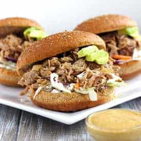 Chipotle Pulled Pork Sandwiches