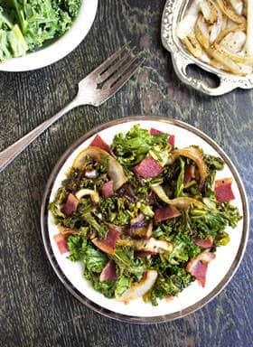 Bacon Kale Salad