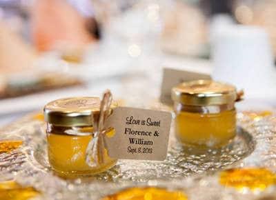 LuLu Island Honey Wedding Favors