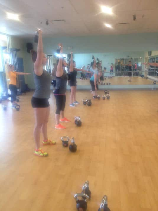 Kettlebell Class Review - Food Faith Fitness