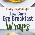 keto low carb egg wraps