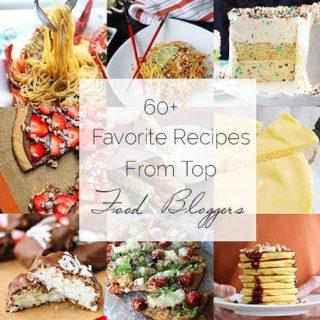 Food Bloggers Favorite Recipes Roundup - A Collection of awesome recipes from TOP food bloggers! | foodfaithfitness.com