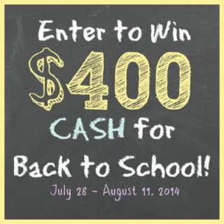 Back To School Giveaway - Food Faith Fitness