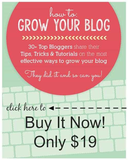 How to Grow Your Blog E-Book - Food Faith Fitness