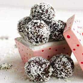 Chocolate Coconut Avocado Truffles
