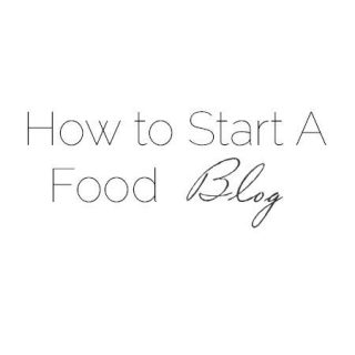 How to Start a Food Blog - Learn how to start an awesome food blog! |Foodfaithfitness.com | #blog #foodblog