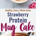 protein powder mug cake