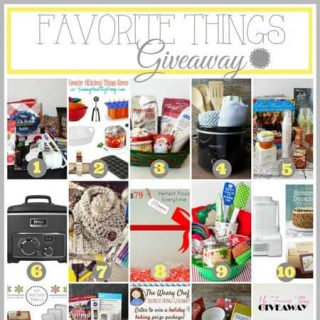 Bloggers Favorite Things Giveaway! | Foodfaithfitness.com | #giveaway
