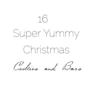 16 Super Yummy Christmas Cookies and Bars | Foodfaithfitness.com | #recipe