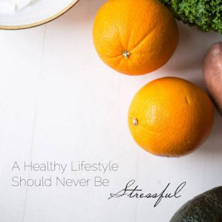 Healthy Eating Should Never Be Stressful - Simple tips to begin a healthy lifestyle this year! | Foodfaithfitness.com | #healthy #eatclean