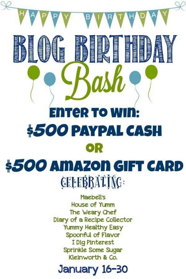 $500 Amazon Gift Card Giveaway | Foodfaithfitness.com |