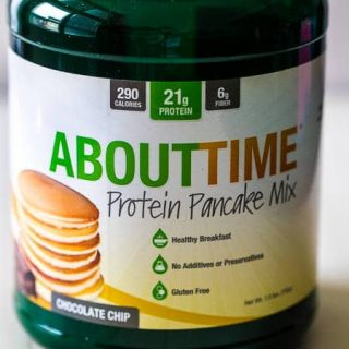 """""""About Time's"""" Protein Pancake Mix and Protein Powder Review 