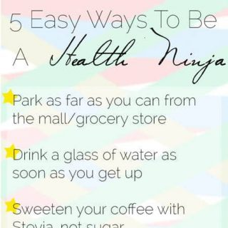 Easy Ways To Be a Health Ninja | Foodfaithfitness.com | @FoodFaithFit