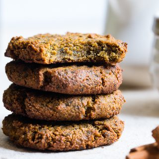 Hidden Veggie Paleo Breakfast Avocado Cookies with Kale - These Paleo Breakfast Cookies are made in the food processor for a quick, easy and healthy breakfast!  Gluten/grain/dairy/egg free, vegan friendly and DELICIOUS! Even picky kiddos won't taste the hidden veggies! | #Foodfaithfitness | #Glutenfree #Paleo #Vegan #Dairyfree #EggFree