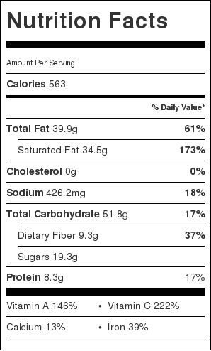 coconut-curry-nutrition-information