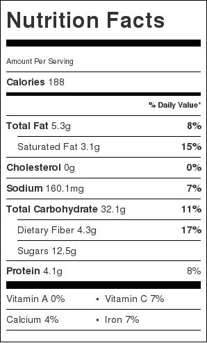 Breakfast-bar-nutrition-information