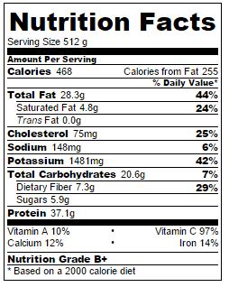 cauliflower-rice-nutritional-information