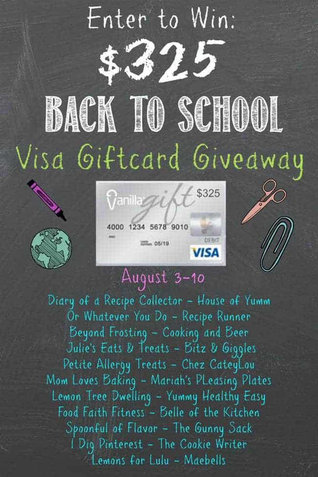 Back to School Giveaway | Foodfaithfitness.com | @FoodFaithFit