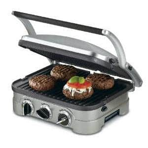 Cuisinart 5-in-1 Griddler (it makes a mean panini too!)