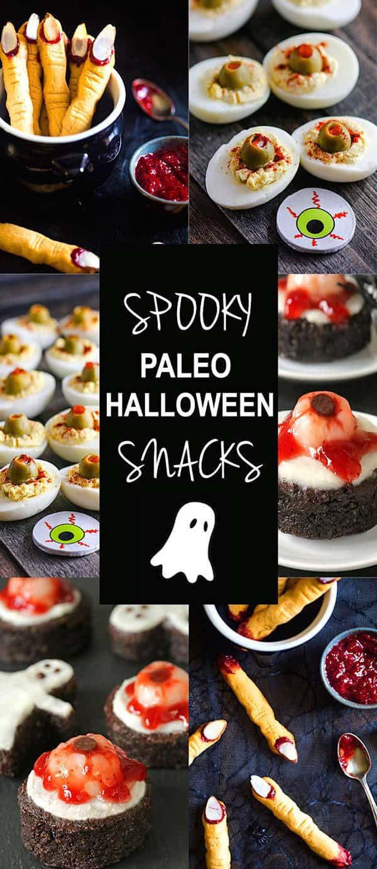 Spooky Paleo Halloween Treats | Foodfaithfitness.com | @FoodFaithFit