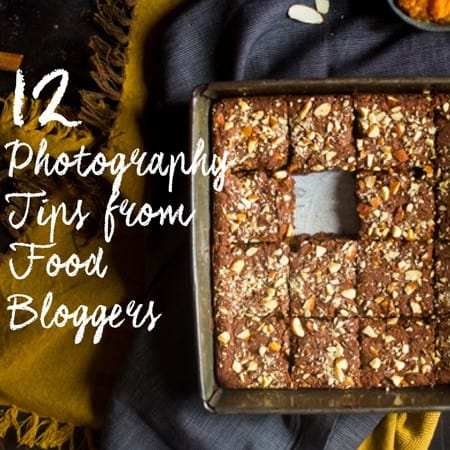 FREE 12 Food Photography Tips from Top Bloggers E-Book | Foodfaithfitness.com | @FoodFaithFit