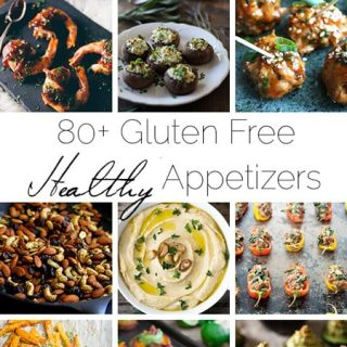 80+ Healthy, Gluten Free Appetizer Recipes | Foodfaithfitness.com | @FoodFaithFit
