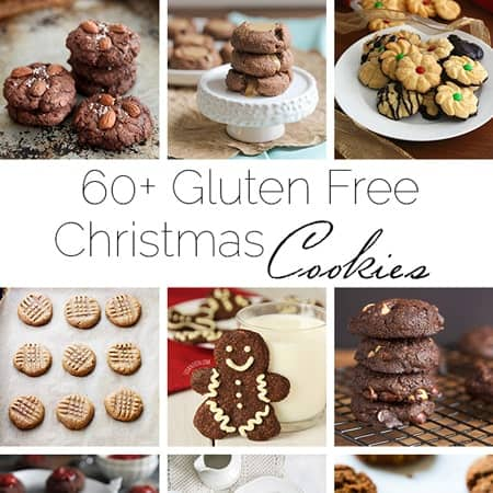 60+ Gluten Free Christmas Cookie Recipes! | Foodfaithfitness.com | @FoodFaithFit