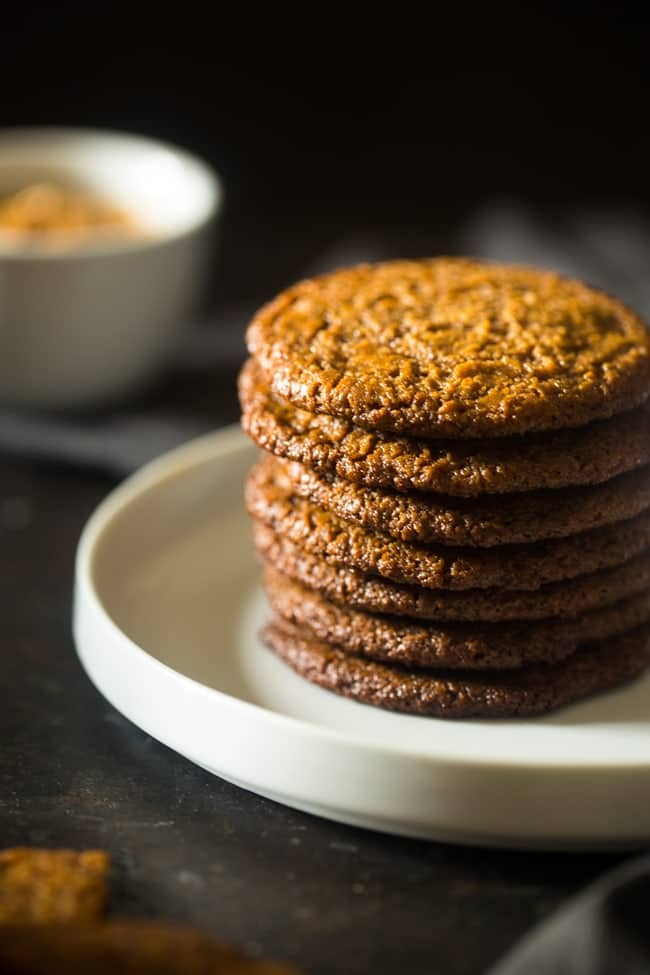 Spiced Paleo Cookies with Almond Butter {Vegan}