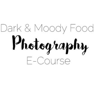 Dark and Moody Food Photography E-Course - Learn how to take gorgeous, moody food photos with this awesome, easy-to-follow e-course! | Foodfaithfitness.com | @FoodFaithFit