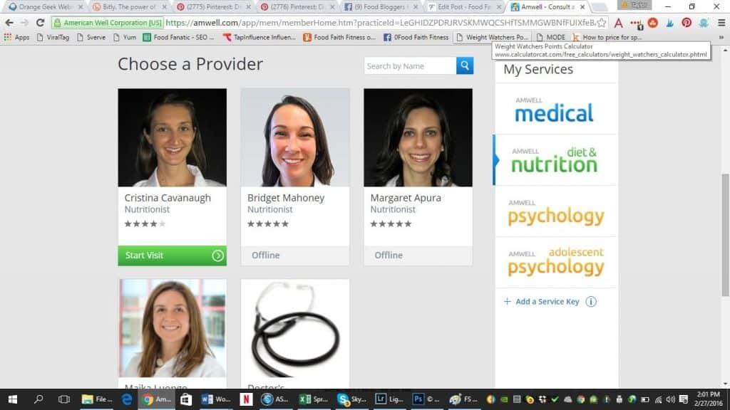 My experience using Amwell health | Foodfaithfitness.com | @FoodFaithFit