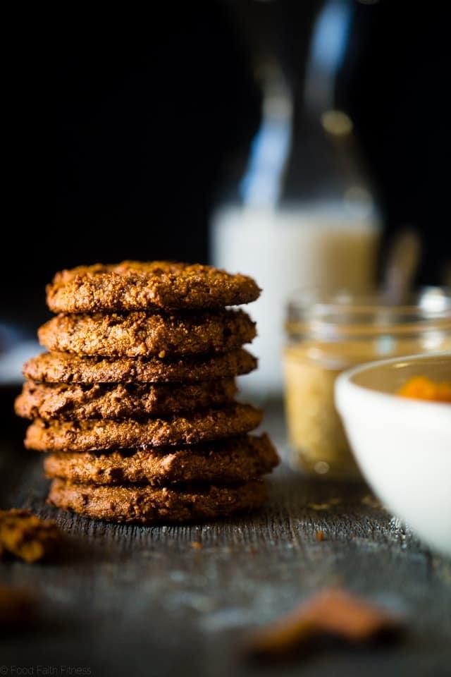 Pumpkin Paleo Cookies with 6 Ingredients