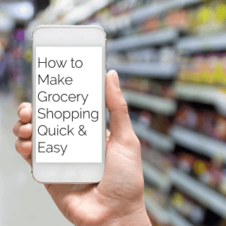 How To Make Grocery Shopping Quick and Easy - Learn the secrets to saving time by grocery shopping more effectively! | Foodfaithfitness.com | @FoodFaithFit